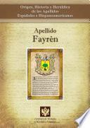 libro Apellido Fayrén