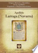 libro Apellido Larraga (navarra)