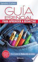libro Guía Esencial Para Aprender A Redactar
