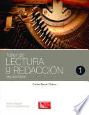 libro Taller De Lectura Y Redacción 1