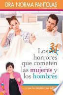 libro 31 Horrores Que Cometen Las Mujeres Y Los Hombres